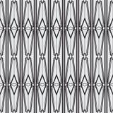 抽象派现代几何无缝的样式 库存照片