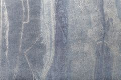 抽象派背景水军蓝色和银色颜色 在帆布的多色绘画 图库摄影