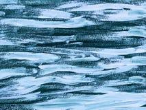 抽象派背景 在画布的油画 艺术品的片段 油漆斑点  油漆绘画的技巧  现代的艺术 库存例证