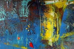 抽象派背景 手画的背景 库存图片