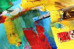 抽象派背景 手画的背景 图库摄影