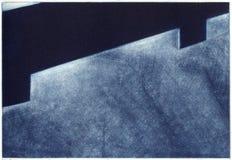 抽象派艺术性的木刻版印刷 免版税库存图片