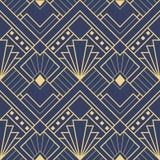 抽象派deco无缝的样式03 向量例证
