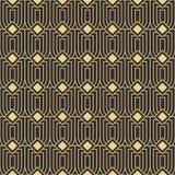 抽象派deco无缝的现代瓦片样式 库存照片