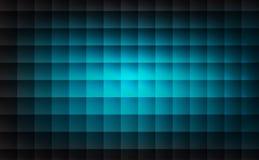 抽象浅兰的样式方形的形状背景 库存例证