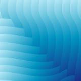 抽象浅兰的波浪背景 免版税库存照片