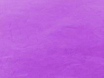 抽象浅紫色的桃红色回收桑树纸纹理背景 免版税图库摄影