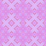 抽象浅紫色的铺磁砖的样式,紫罗兰色华丽瓦片纹理背景,无缝的例证 皇族释放例证