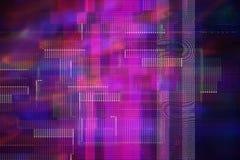 抽象测试屏幕小故障纹理 图库摄影