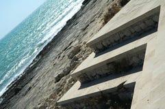 抽象海岸 图库摄影