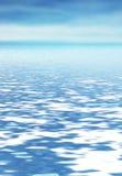 抽象海洋 免版税库存图片
