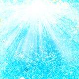 抽象海水和沙子构造了与夏天光芒的背景 库存图片