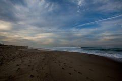 抽象海滩 免版税库存图片