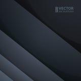 抽象深灰长方形形状 免版税库存图片