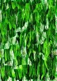 抽象深绿水彩冲程背景 免版税库存图片