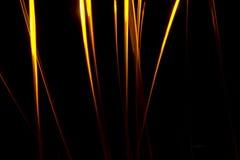 抽象混乱火光芒 库存照片
