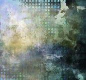 抽象混合画法 免版税图库摄影