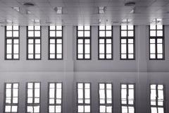 抽象清楚的明亮的Windows 免版税库存照片