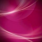 抽象温和路线和bokeh在洋红色和桃红色背景。 免版税库存图片
