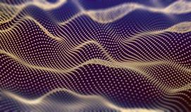 抽象滤网和结构背景 3d例证 向量例证