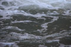 抽象漩涡背景河的表面上的 免版税图库摄影