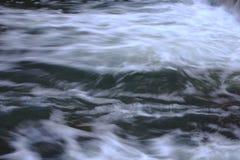 抽象漩涡背景河的表面上的 库存图片