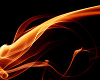 抽象火焰 库存图片