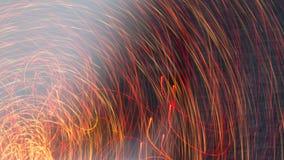 抽象灯光管制线 库存图片