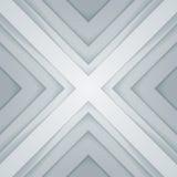 抽象灰色和白色三角塑造背景 库存图片