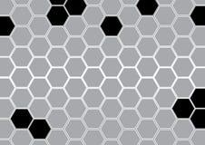 抽象灰色多角形背景传染媒介例证 免版税库存照片
