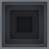 抽象灰色长方形塑造传染媒介背景 库存照片