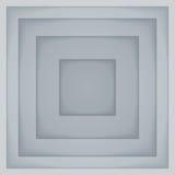 抽象灰色长方形纸塑造背景 库存照片