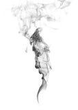 抽象烟。人面孔。 免版税库存图片