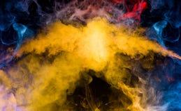抽象烟的混合 免版税图库摄影