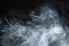 抽象烟背景 免版税库存照片