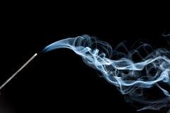 抽象烟通知 免版税图库摄影