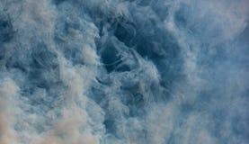 抽象烟 库存照片
