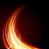 抽象烧伤火火焰 库存例证