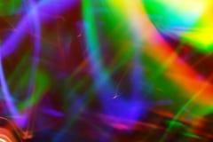 抽象照明设备跟踪 库存图片