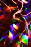 抽象照明设备跟踪 图库摄影
