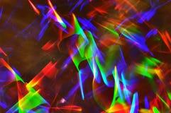 抽象照明设备跟踪 免版税库存图片