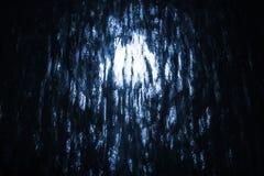 抽象照片背景用光亮的黑水 图库摄影