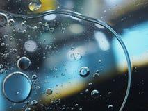 抽象照片 泡沫 在col的很多五颜六色的气球 免版税库存图片