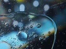 抽象照片 泡沫 在col的很多五颜六色的气球 库存图片