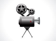 抽象照相机图标录影 库存照片