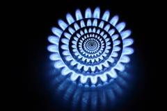 抽象燃烧器气体 免版税库存照片