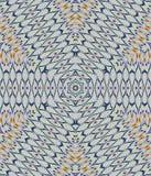 抽象特征模式浅灰色的蓝色桔子 免版税库存图片