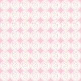 抽象玫瑰的传染媒介无缝的样式 皇族释放例证