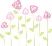 抽象玫瑰 库存例证