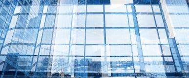 抽象现代企业背景横幅 免版税图库摄影